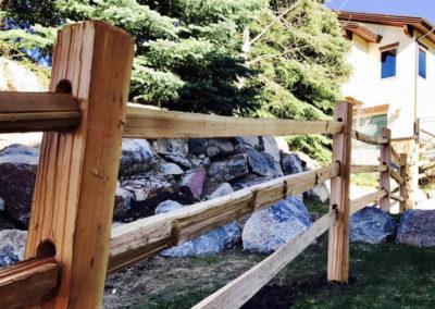 Cedar Decorative Fence