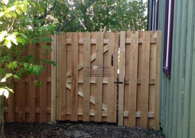 Cedar Protection Fence