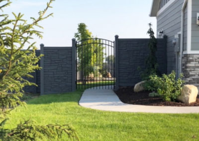Decorative SimTek Fence