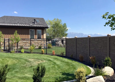 SimTek Protection Fence