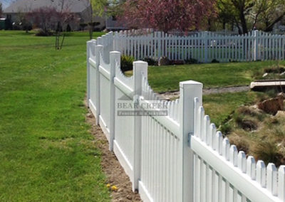 Vinyl Decorative Fence